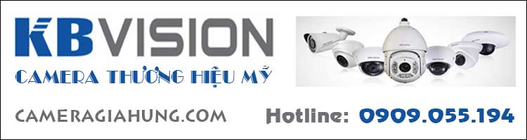 KBVISION camera thương hiệu Mỹ