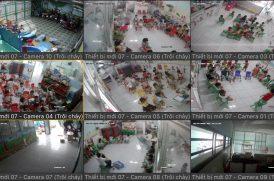 Lắp đặt camera quan sát giá rẻ cho trường mầm non, nhà trẻ, mẫu giáo