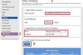 Tổng hợp các hướng dẫn mở port – NAT port modem