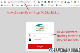 Hướng dẫn NAT port modem Viettel – mở port modem Viettel H646EW