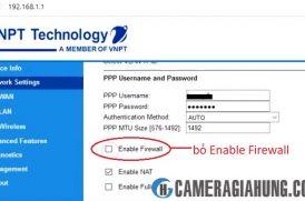 Hướng dẫn NAT port modem VNPT – mở port modem VNPT