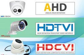 Công nghệ HD-TVI, HD-CVI, AHD là gì?
